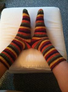 Feet + socks
